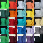 100% Cotton Interlock Jersey Tshirt Fabric Material Various Colours Q60 FREE P&P