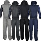 C01 Mens Jogging Suit Tracksuit hooded hoodie Fleece Bottoms Pants S -XL