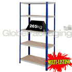 SUPER HEAVY DUTY SHELVING STORAGE RACKING WAREHOUSE GARAGE 1770x900x600mm 265KG