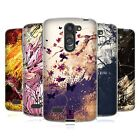 HEAD CASE FLORAL DRIPS SILICONE GEL CASE FOR LG L BELLO D331