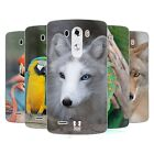 HEAD CASE FAMOUS ANIMALS SILICONE GEL CASE FOR LG G3 D850