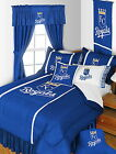 Kansas City Royals Comforter Sham Bedskirt Drapes Valance Twin to King Size