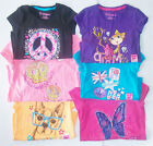 Hanes Girls Graphic T-Shirts Various Patterns Colors and Sizes NWT