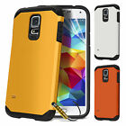 New Hard Back Shock Proof Case Cover For Samsung Galaxy S5 Free Screen Protector