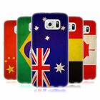 HEAD CASE VINTAGE FLAGS SET 1 SILICONE GEL CASE FOR SAMSUNG GALAXY S6 G920