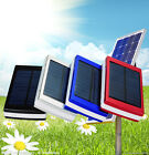Solar 12000mAh Dual USB Portable Battery Charger Power Bank For Cell Phone/iPad