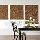 Cindy Crawford WHITTINGTON ROMAN FABRIC SHADES LINED FLORAL or STRIPED