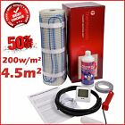 Electric Underfloor Undertile Heating Kit 200w 4.5m2 Thermopads FREE Delivery