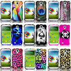 For Samsung Galaxy S4 SIV S IV Design Set 3 Phone Case Hard Shell Snap On Cover