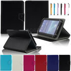 Universal Flip PU Leather Stand Case Cover For Various 7 - 10.5 Inch Tablet PC