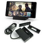 Magnetic Charging Dock Stand Desktop Charger Cable For Sony Xperia Z2 Z3 Compact