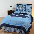 North Carolina Tar Heels Comforter Sham & Bedskirt Twin Full Queen King Size