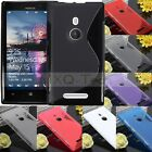 S Line Soft TPU Gel Silicone Case Cover Skin For Nokia Microsoft Lumia Phone new
