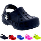 Unisex Kids Crocs Baya Slip On Lightweight Clog Sandal Mule Beach Shoe UK 2-3