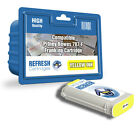 COMPATIBLE PITNEY BOWES YELLOW 787-F FRANKING MACHINE INK CARTRIDGE