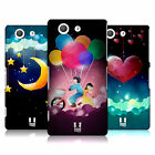 HEAD CASE DESIGNS LOVE AFLOAT HARD BACK CASE FOR SONY XPERIA Z3 COMPACT D5803