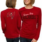 Tampa Bay Buccaneers Women's Game Day Long Sleeve T-Shirt - Red