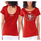 San Francisco 49ers Women's Scarlet Touch Team Spirit II T-Shirt