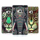 HEAD CASE AZTEC ANIMAL FACES SERIES 2 GEL CASE FOR NOKIA LUMIA 535