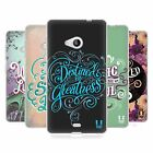 HEAD CASE INSPIRATIONAL TYPOGRAPHY GEL CASE FOR MICROSOFT LUMIA 535