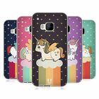 HEAD CASE FANCY UNICORNS CHUBBY COLLECTION SILICONE GEL CASE FOR HTC ONE M9