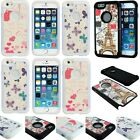 "For Apple iPhone 6 4.7"" Double Layer Hybrid Gel Armor Protector Hard Case Cover"
