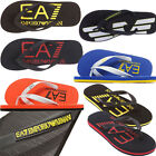 EMPORIO ARMANI EA7 MENS FLIP FLOPS AND SANDALS - ARMANI BEACH POOL WEAR SANDALS