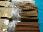 "JCPenney CAPE COD Woven Wood Bamboo Roman Shade Blind 72""L  White or Rosewood"
