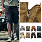 Hot Sale Mens Summer Army Combat Camo Work Cargo Shorts Pants Trousers