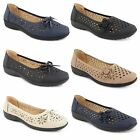 Womens Loafers Shoes Flat Casual Summer Office Work Ladies Ballerina Shoes Size