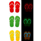 women Beach Flip Flops Shoes flats Luminous Glow In The Dark Luminous Shoes