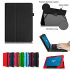 Folio Stand Leather Case Cover for Dell Venue 10 5050/Venue 10 Pro 5055 Tablet