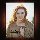 Eleanor Tomlinson Poldark 2015 PP Signed Autograph Framed Photo/Canvas Print