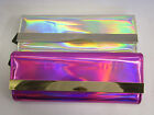 72878 & 72877- Ladies Ella Iridescent Clutch Bag 2 Colours- Pink & Silver!