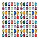 Wholesale Czech Crysta Almond Pear Charms Pendants 22MM 28MM Pick