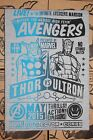Exclusive Marvel Collector Corp Shirt Thor Captain America