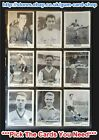 ☆ A&BC 1961 Footballers Plain Back (G/F) ***Pick The Cards You Need***