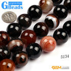 """Round Dream Lace Agate Natural Stone Grade AAA Jewelry Making Loose Beads 15"""""""