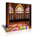 Masjed-e Naseer ol Mosque Iran Canvas Wall Picture Print 9 Sizes