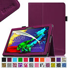 Folio Stand Leather Case Cover for Lenovo Tab 2 A10-70 10-Inch Android Tablet