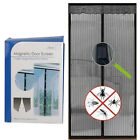 HOME MAGNETIC CURTAIN HANDS FREE NET MESH SCREEN FLY MOSQUITO INSECTS BUGS DOOR