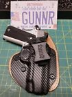 "IWB Hybrid Holster ""Hybrid Defender"" Kydex Leather Concealed Single Point Carry"