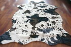 Cow Zebra Leopard Print Faux Cowhide Living Bedroom Non-Slip Carpet Rug MT35