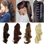 Fashion New Style Clip in On Wrap Around / Claw Ponytail hair extensions MU3232