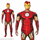 Adult Mens Marvel Avengers Official Iron Man Fancy Dress Party Costume
