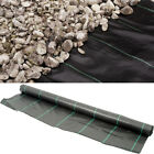 1m Wide Weed Control Fabric Ground Cover Membrane Heavy Duty Choice Of Length