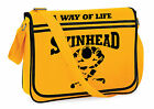 Skinhead Messenger Shoulder Bag, Soul, Motown, Reggae, Ska, Scooter, Life