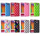 Durable Polka Dot Glossy Soft Silicone Case Cover for Samsung S5 S6 Note4 eypa