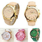 Women's Watch Faux Leather Watch Fashion Cheap Watch Geneva Quartz Watch Dress