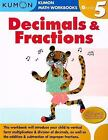 Grade 5 Decimals and Fractions: Kumon Math Workbooks (2008,Paperback) no writing